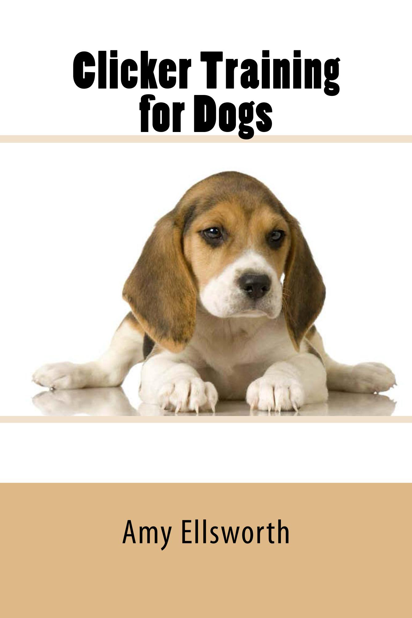 Clicker Training for Dogs - Cover