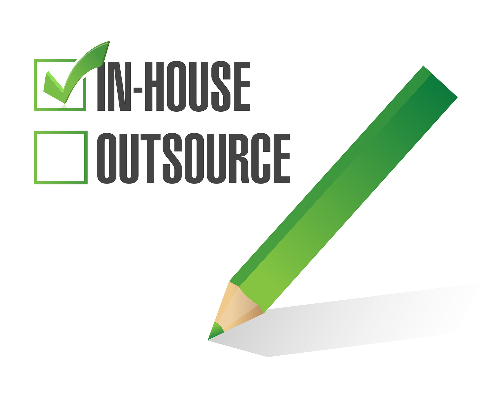 In House - Outsource?