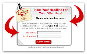 Squeeze Page Example
