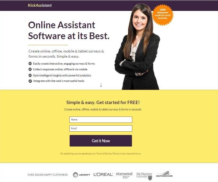 Online Assistant - Describing the Benefits