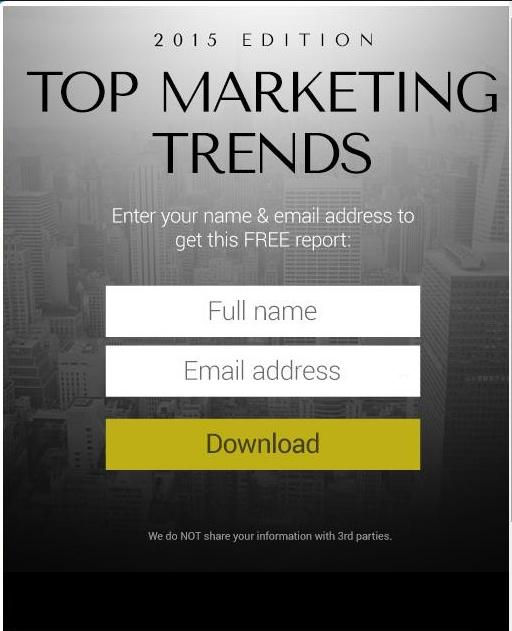 Top Marketing Trends