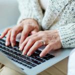 Older Woman at Computer