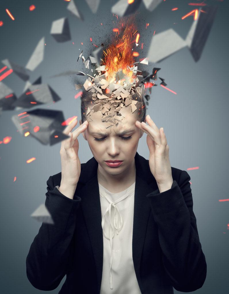 Explodindg Head from Pressure